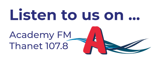Listen to us on Academy FM Thanet