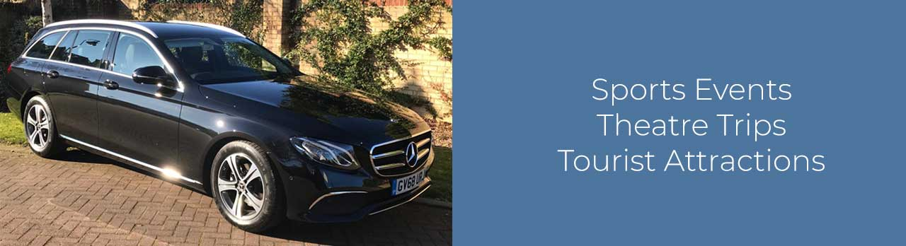 A range of our cars at Cannons Chauffeur Services