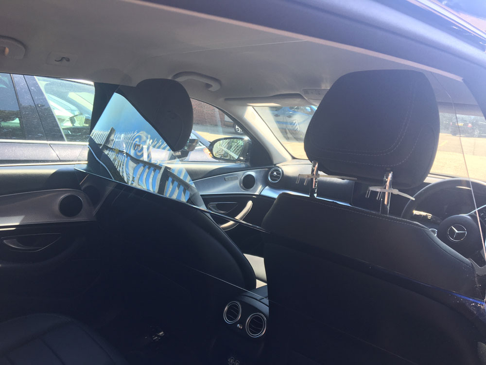 Mercedes Estate - COVID-19 Safety Measure at Cannons Chauffeur Services