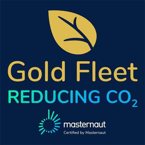 Gold Fleet - Reducing Co2 Logo